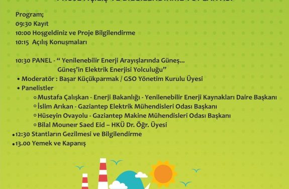 Program of kick-off meeting, Gaziantep, 24.10.2019